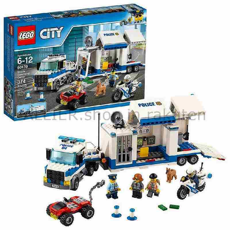 LEGO レゴブロック No.60139_モバイルコマンドセンター Police Mobile Command Cente