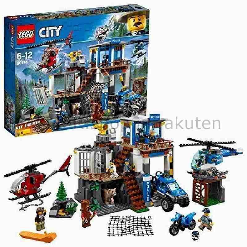 LEGO レゴブロック No.60174_山岳警察本部 Mountain Police Command Base