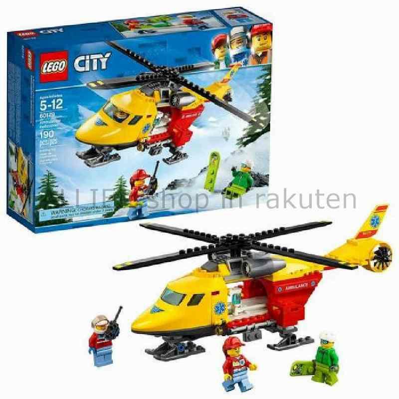 LEGO レゴブロック No.60179_救急ヘリコプター Great Vehicles Ambulance Helicopter