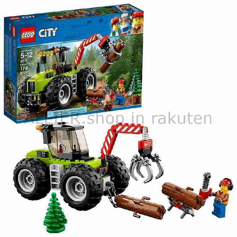 LEGO レゴブロック No.60181_森林トラクター Forest Tractor