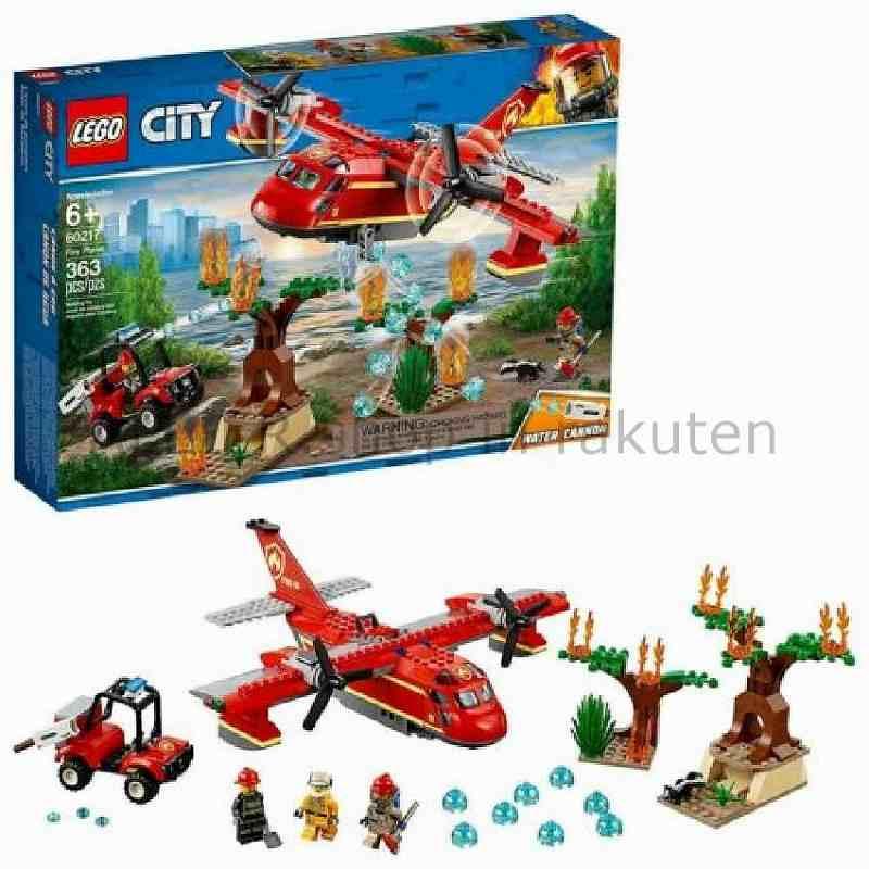 LEGO レゴブロック No.60217_ファイアープレーン Fire Plane