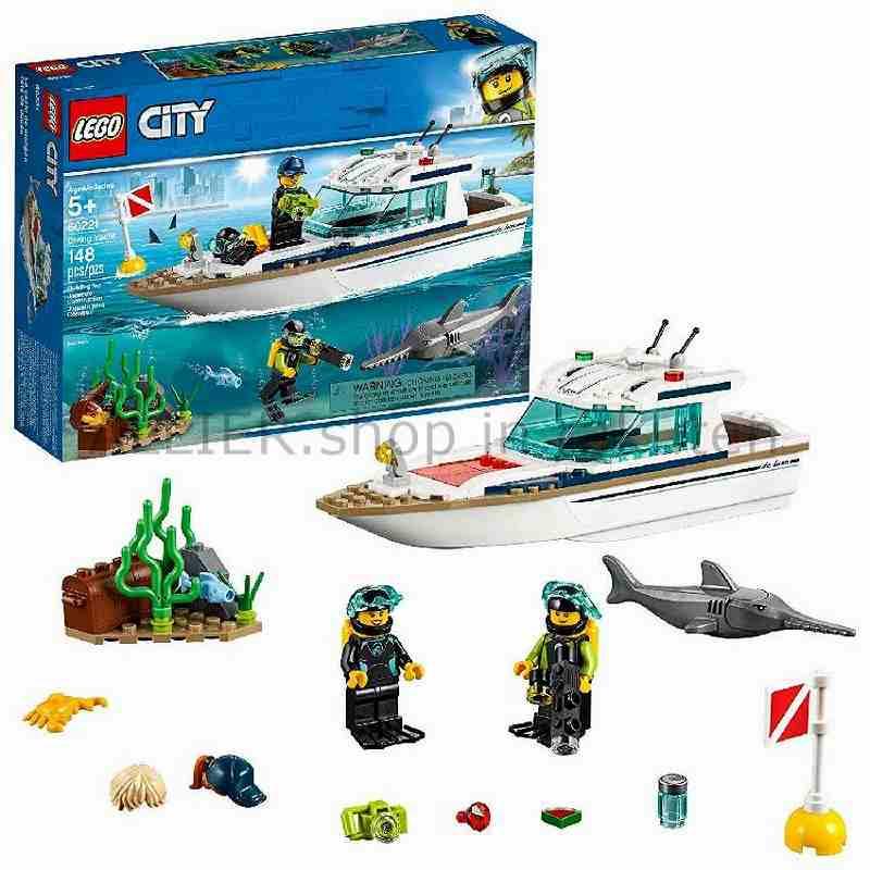 LEGO レゴブロック No.60221_ダイビングヨット Great Vehicles Diving Yacht