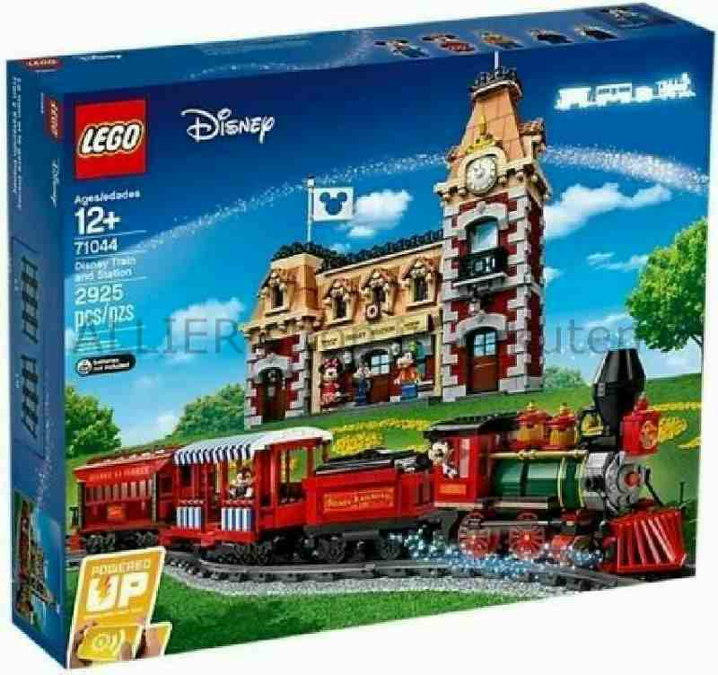 LEGO レゴブロック No.71044_ディズニートレインアンドステーションDisney Train and Station