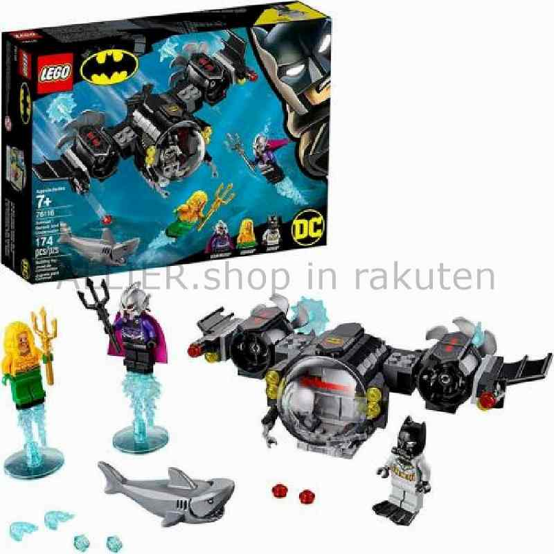 LEGO レゴブロック No.76116_Batman?Batsubとアンダーウォータークラッシュ Batman Batsub and th