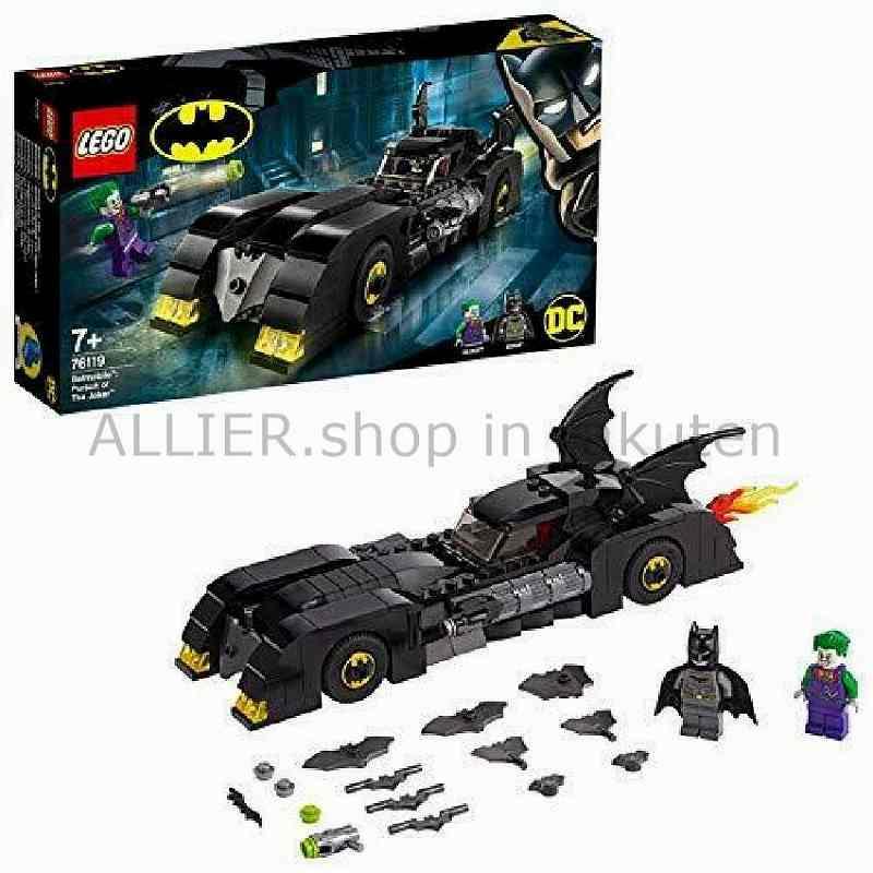LEGO レゴブロック No.76119_Batmobile?:The Joker?の追求 DC Universe Super Heroes