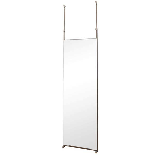 つっぱり鏡 全身鏡つっぱり 60cm [ 送料無料 +ポイント2倍 ] 突っ張りミラー 家具 インテリア 鏡 姿見 壁掛けシンプル 壁面ミラー 幅60cm 通販