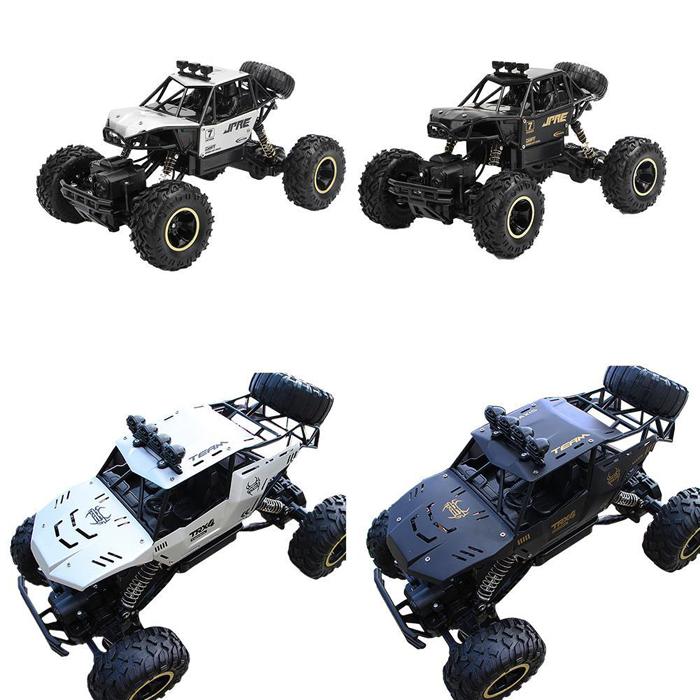 4wd ラジコン カー オフロード ラジコンカー 車 [送料無料 輸入品] クライミングカー RCモンスタートラック 2.4GHz