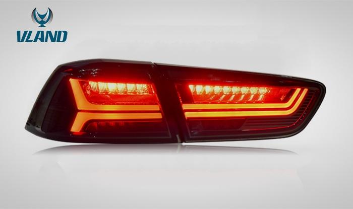 cz4a テール ランプ 流れる ウインカー ランエボX ギャラン フォルティス LED テール エボ10 VLAND