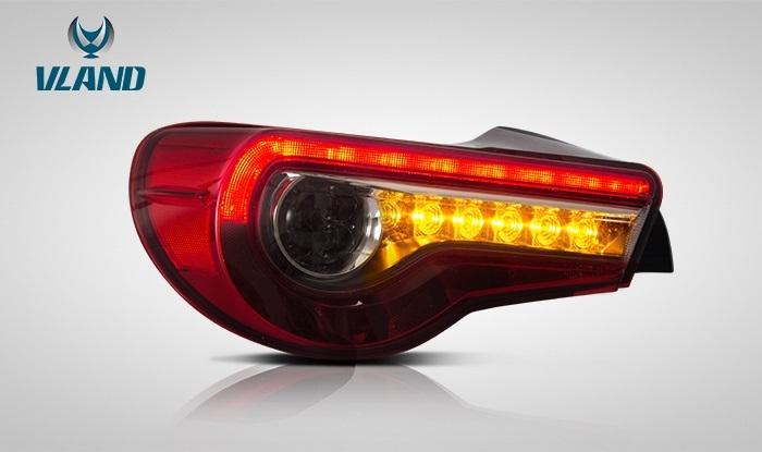流れるウィンカー搭載 86 FT86 ハチロク BRZ LEDテールランプ 流れるLEDウィンカー 86テールランプ BRZテールランプ ZN6テールランプ ZC6テールランプ