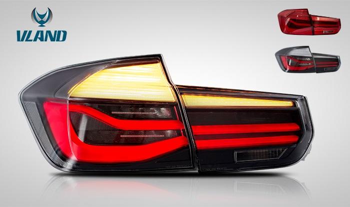 BMW F30 3シリーズ用 LED 後期仕様 テールライト テールランプ VLAND コーディング不要