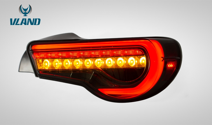 流れるウィンカー搭載 スモーク 86 FT86 ハチロク BRZ LEDテールランプ 流れるLEDウィンカー ZN6テールランプ ZC6テールランプ VLAND