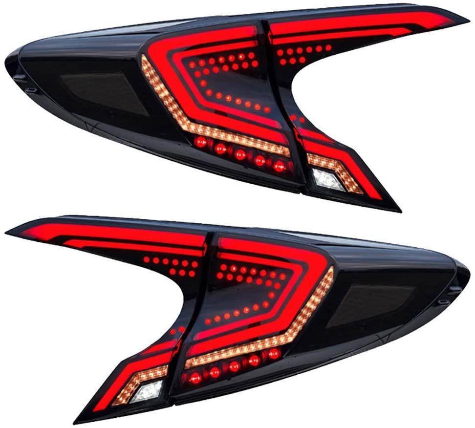 C-HRのリアヴューがスタイリッシュに煌めきます オープニングモーションはオンオフ可能 USEKA 2020A/W新作送料無料 トヨタ CHR 高価値 C-HR テールランプ テールライト リアライト ZYX10 NGX10 NGX50 全LED ウインカー toyota 左右4点セット デモンストレーション機能 taillight カプラーオン 流れる FOR LED