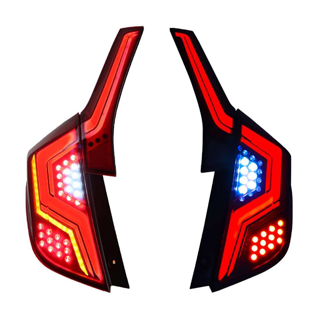 デモンストレーション機能,全LED点灯 USEKA 新生活 ホンダ フィットGK5 テールランプ 14-18年式モデル 全LED 新型デモンストレーション機能搭載 限定価格セール セルラー式
