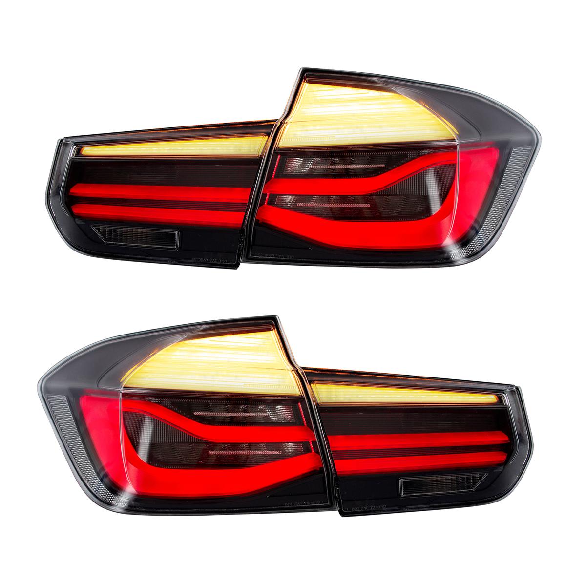 流れる ウインカー BMW F30 3シリーズ,全LED USEKA 3シリーズ テールランプ リアライト テールライト テールレンズ F35 F80 パフォーマンスルック全LED 2013-2015 M3 tail LIGHT 人気急上昇 FOR スモーク 注文後の変更キャンセル返品 13-15年 LED LAMP 仕様 左右セット新品
