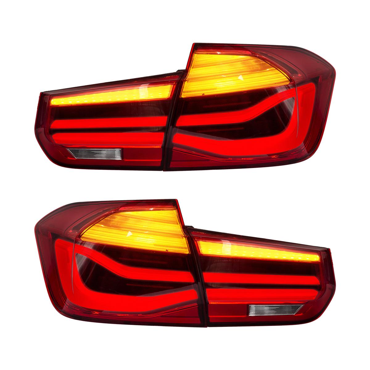 流れる ウインカー 格安 価格でご提供いたします BMW F30 3シリーズ,全LED タイムセール レッドクリア USEKA 3シリーズ テールランプ リアライト テールライト テールレンズ F35 tail LAMP 仕様 LIGHT FOR パフォーマンスルック全LED 13-15年 左右セット新品 2013-2015 F80 LED M3