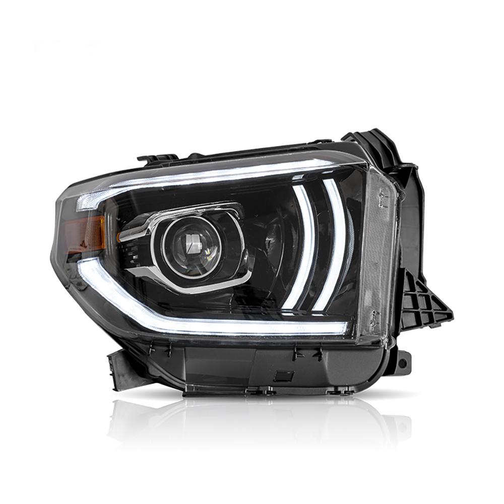 タンドラ ヘッドライト ヘッドランプ 全LED TUNDRA USEKAトヨタ 流れる ブランド品 ウインカー 限定Special Price 全LED仕様 LEDheadlight 14y-up 昼間ランニングライト 二代目 車パーツ 新品 左側ハンドル TOYOTA