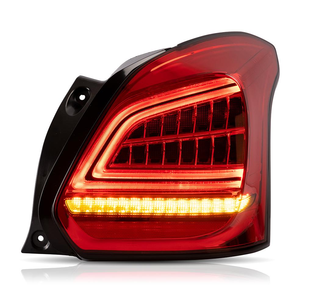 スズキ スイフト スボーツバージョン ZC33S専用 , 流れる ウインカー LED仕様 大人気! 激安販売中 USEKA 流れるウインカー サービス 全LED swift リアライト テールランプ 左右2点セット taillight 2017-2019年 テールライト LED 新品 レッドスモーク FOR suzuki