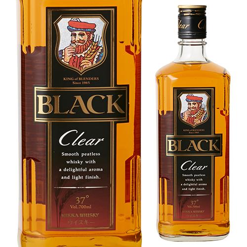 爆買い送料無料 8 30限定 全品P3倍ニッカ ブラックニッカ 安心の定価販売 クリア 700ml ウィスキー whiskyまで 長S japanese ウイスキー