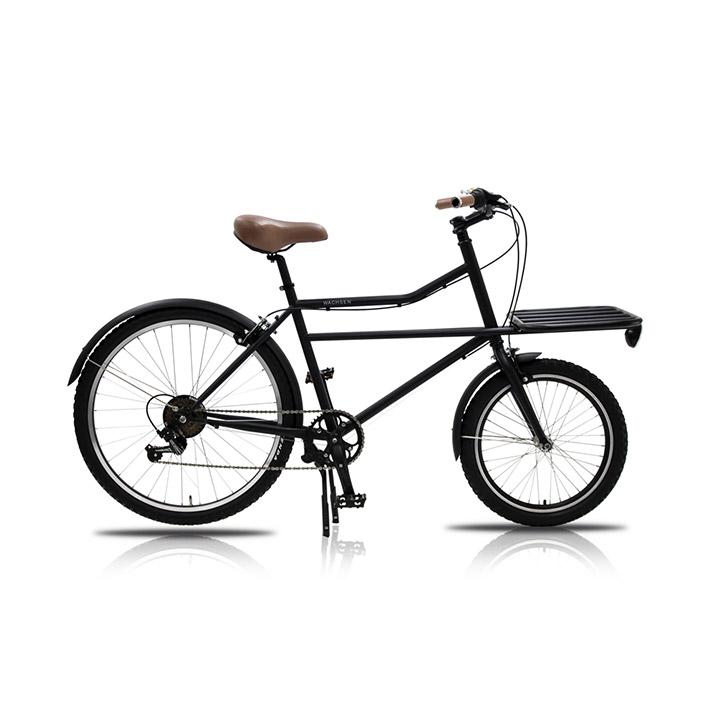 自転車 26インチ カーゴバイク 6段変速 Tragen 街乗り 通勤 通学 シマノ シティサイクル おしゃれ ブラック 黒 レディース メンズ WBG-2601