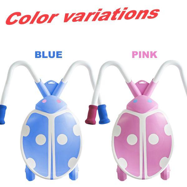 승 용 완구 4 륜 타는 탈것 장난감 실내용 실외 용 겸용 유아용 어린이 키즈 어린이용 핸들 접근성 벨트 견인 blue pink 블루 핑크 한정 선물 tc-60