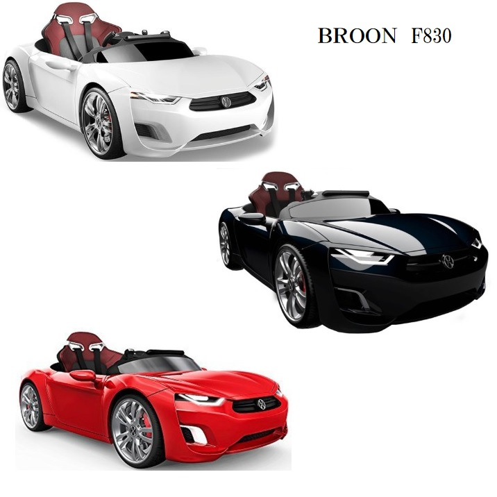 Sports Model White Black Red And Mounted With Steering Wheel