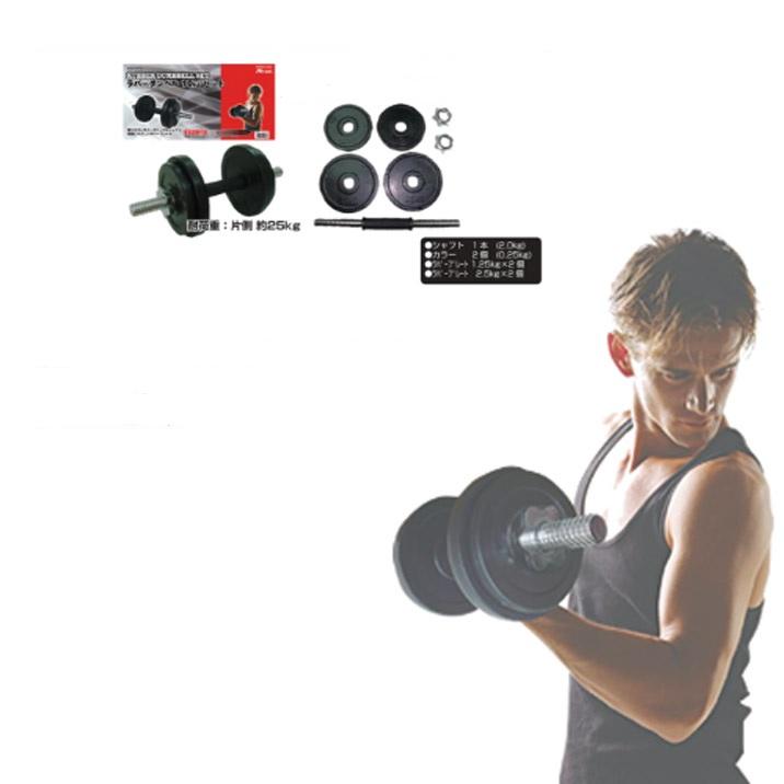 ライテック【LITEC】ラバーダンベル 10kg DP080 ラバープレート ダンベル 鉄アレイ エクササイズ フィットネス シェイプアップ ダイエット スポーツ 筋トレ 筋力アップ