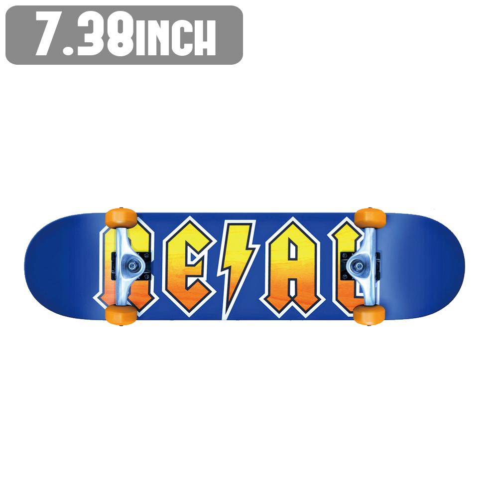 スケートボード スケボー コンプリート リアル REAL COMPLETE RS NEW DEEDS MINI 7.38 x 29.5