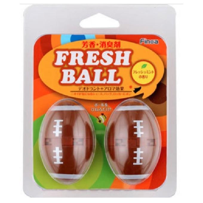 フレッシュボールラクビ-ボ-ル      6個入り m5120vog325 匂い消し 消臭 におい ラグビー