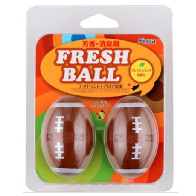 フレッシュボール アメリカンフットボ-ル6個入り m5130vog326 匂い消し 消臭 におい アメフト