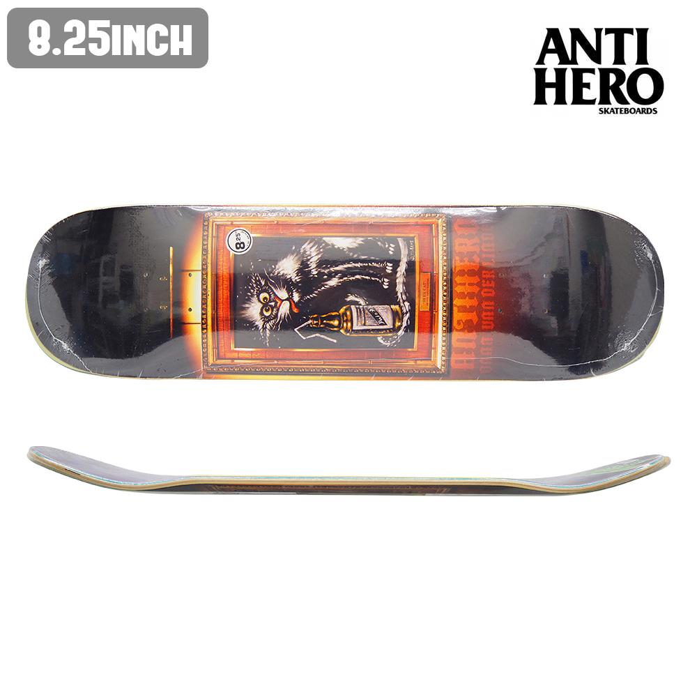 スケートボード スケボー デッキ ANTI HERO アンチヒーロー DAAN VAN LINDEN BLACK VELVET 板 ストリート SKATE DECK あす楽 福袋 公式 正規店【inch:8.25】