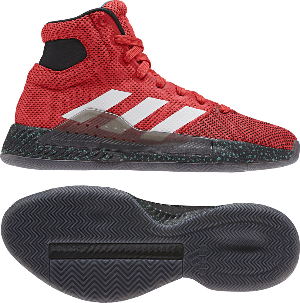 Pro Bounce Madness 2019 adidas (Adidas) active REDS19 basketball shoes ADJ  BB9237 adj,bb9237