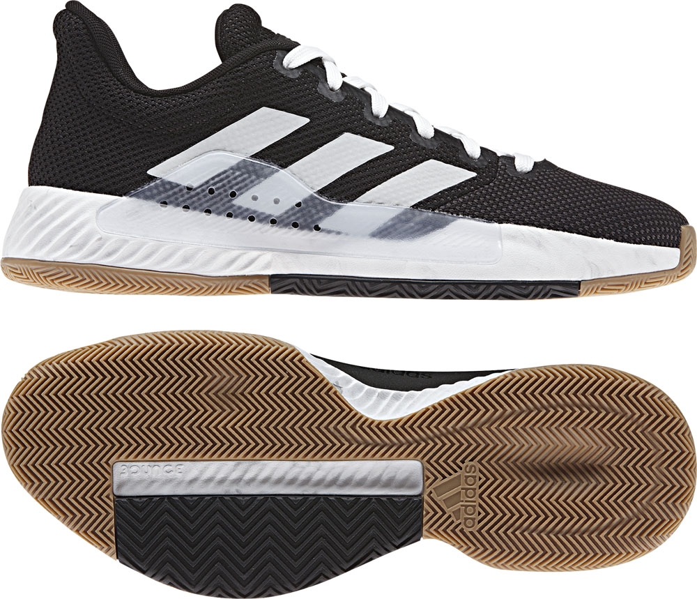 Pro Bounce Madness Low 2019 adidas (Adidas) core BLK/RUNWHT basketball  shoes ADJ BB9280 adj,bb9280