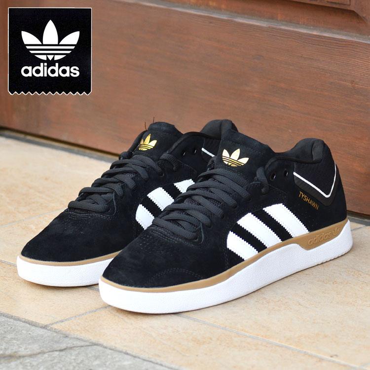 国内正規品 アディダス SB タイショーン ジョーンズ ブラック スニーカー スケートボード TYSHAWN fy0441 adidas skateboarding 公式通販 スケートシューズ 1着でも送料無料