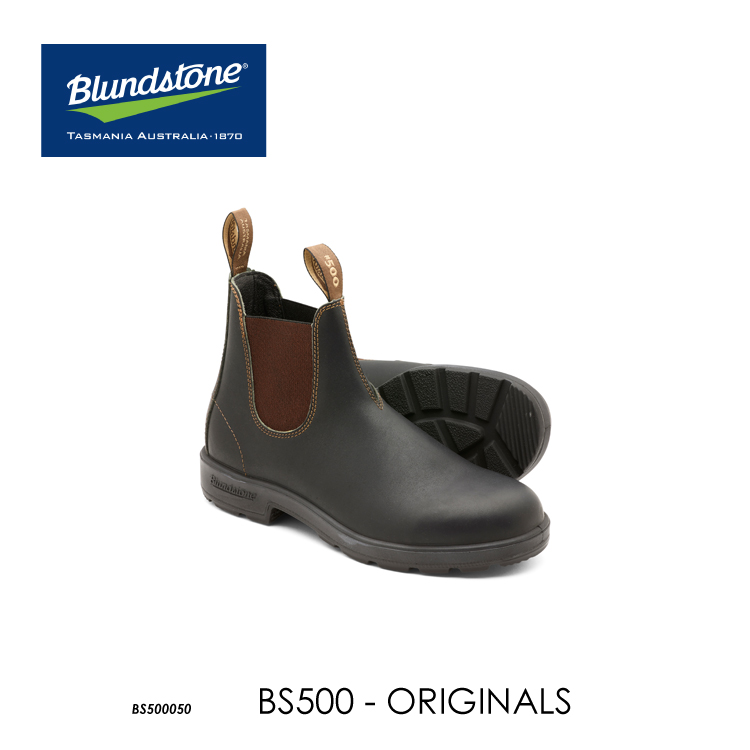 送料無料 ブランドストーン サイドゴアブーツ BS500 スタウトブラウン Blundstone Original 500 Series レザーシューズ 国内正規品 お取寄せ