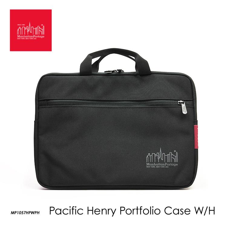 最安値挑戦 送料無料 国内正規品 マンハッタンポーテージ PCケース PCバッグ テレワーク リモート Manhattan Handle W Case MP1057HPWPH Pacific 交換無料 Henry Portage Portfolio