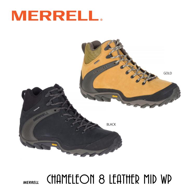入荷中 メレル MERRELL カメレオン8レザー ミッド ウォータープルーフ CHAMELEON 8 LEATHER MID WATERPROOF 登山 ハイキング キャンプ フェス, ひめこうぐ fa5f825c