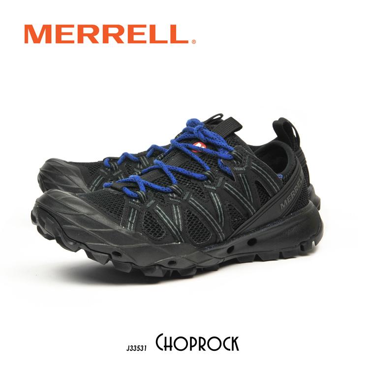 メレル チョップロック ウォーターシューズ ブラック/コバルト MERRELL CHOPROCK 33531