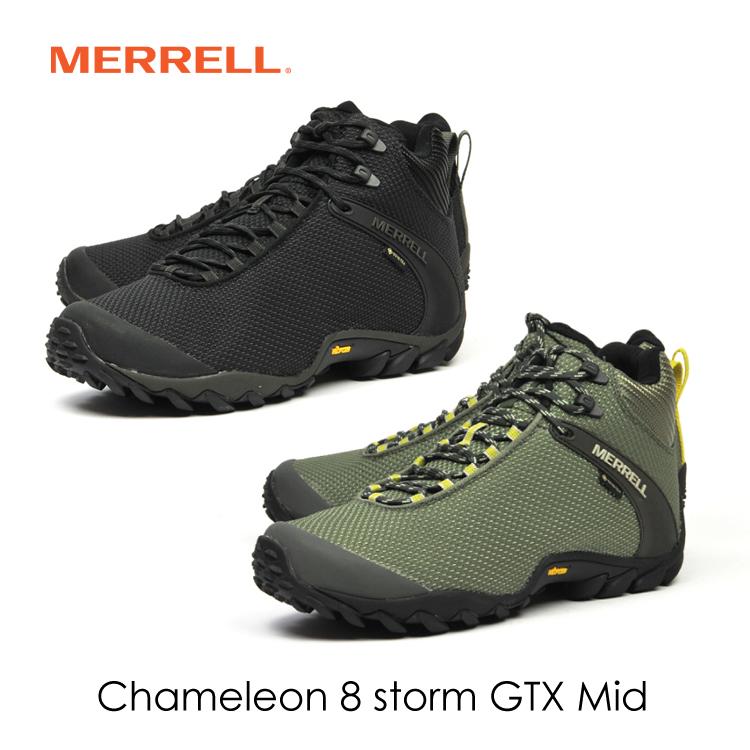 メレル MERRELL カメレオン 8 ストームミッド ゴアテックス CHAMELEON 8 STORM MID GORE-TEX 登山 ハイキング キャンプ フェス