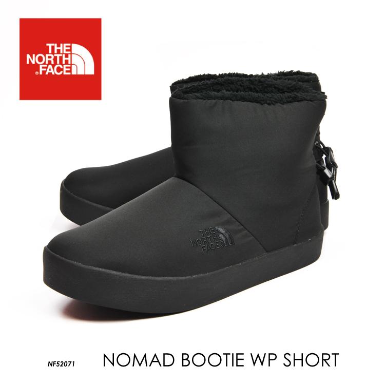 国内正規品 送料無料 THE NORTH FACE ノースフェイス ノマド ブーティ ショート Nomad Bootie WP SHORT メンズ レディース ウィンターブーツ 撥水 NF52071 2020FW
