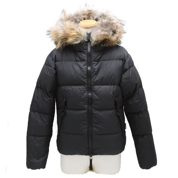 デュベティカ DUVETICA ダウンジャケット メンズ フード ブラック 46サイズ