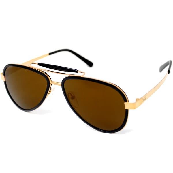 ガガミラノ GaGa MILANO サングラス メンズ レディース ユニセックス チタン ティアドロップ BLACK-FL 54サイズ