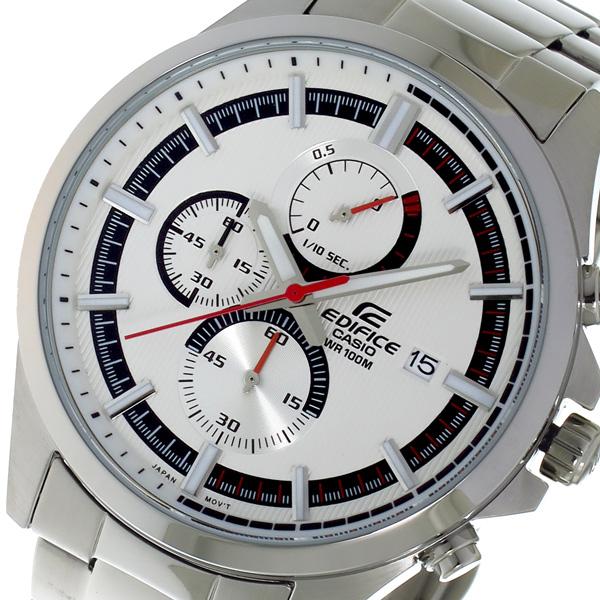 カシオ CASIO 腕時計 メンズ クロノグラフ シルバー エディフィス EDIFICE