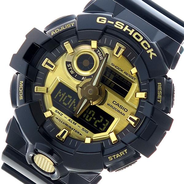 カシオ CASIO 腕時計 メンズ クロノグラフ ゴールド G-SHOCK Gショック