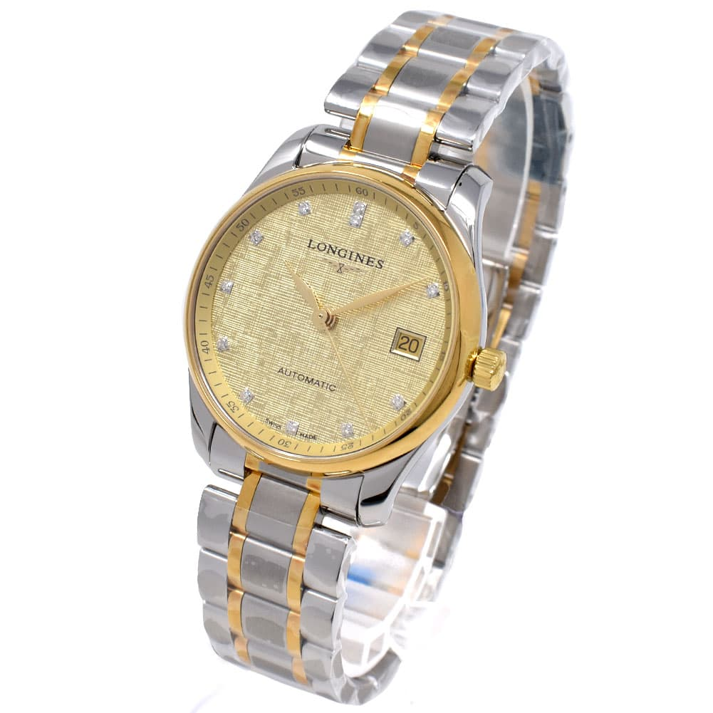 ロンジン LONGINES 腕時計 メンズ ダイヤモンド 自動巻き オートマチック マスターコレクション