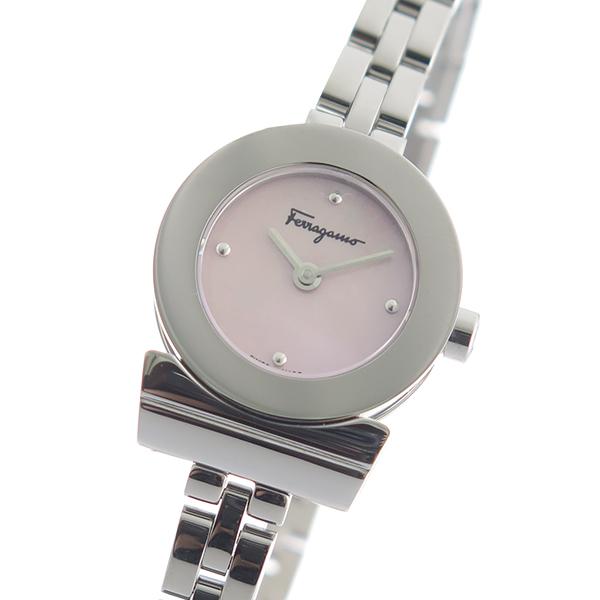 サルヴァトーレフェラガモ SalvatoreFerragamo 腕時計 レディース ピンクシェル