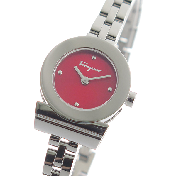 サルヴァトーレフェラガモ SalvatoreFerragamo 腕時計 レディース レッド