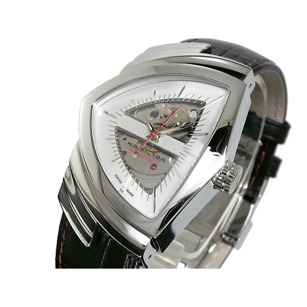 ハミルトン HAMILTON 腕時計 メンズ 自動巻き レザー ベンチュラ