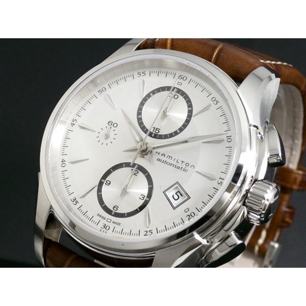ハミルトン HAMILTON 腕時計 メンズ 自動巻き クロノグラフ レザー