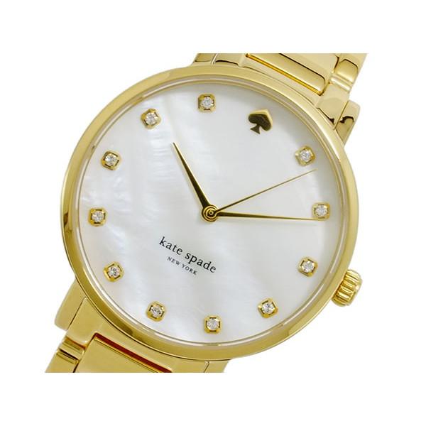ケイトスペード KATESPADE 腕時計 レディース ホワイト×ゴールド