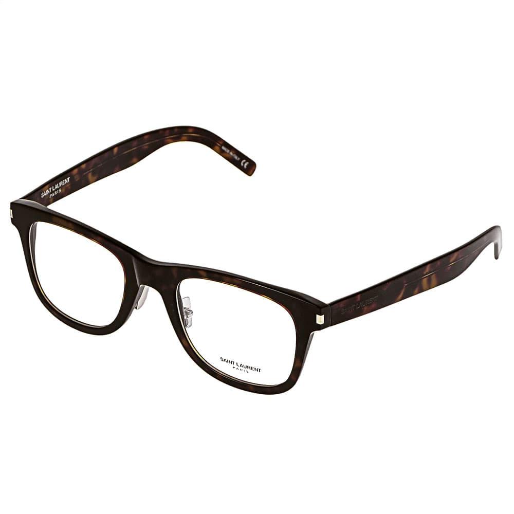 イブサンローラン YVES SAINT LAURENT メガネフレーム 眼鏡フレーム レディース メンズ ユニセックス ウェリントン型 べっ甲柄